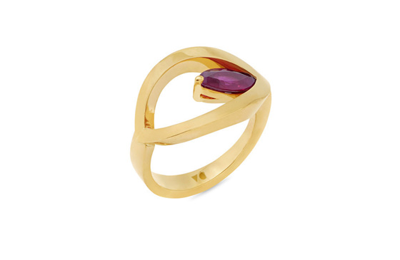Poise: Ruby Marquise Dress Ring
