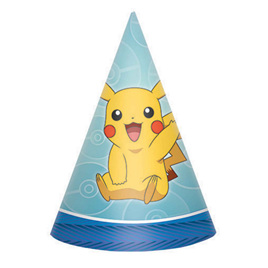 Pokemon cone hats x 8