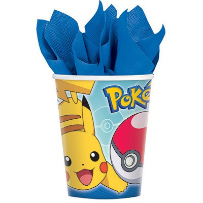 Pokemon cups x 8