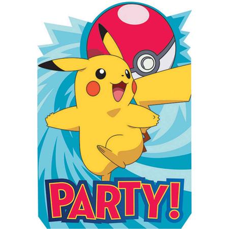 Pokemon invites x 8
