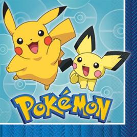 Pokemon napkins x 16