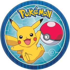 Pokemon plates x 8