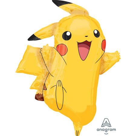 Pokemon super shape foil balloon .