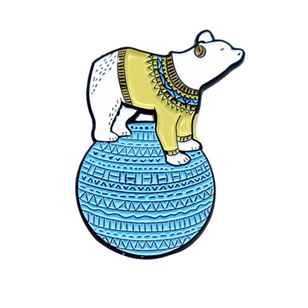 Polar Bear Enamel Pin