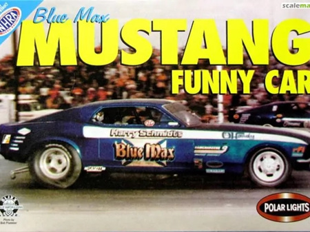 Polar Lights 1/25 Blue Max Ford Mustang Funny Car