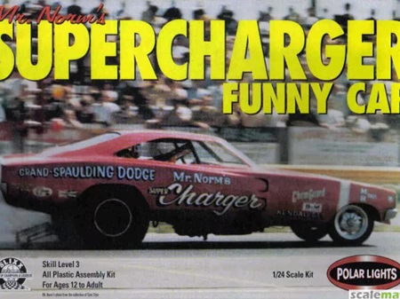 Polar Lights 1/24 Mr Norm's Supercharger Funny car