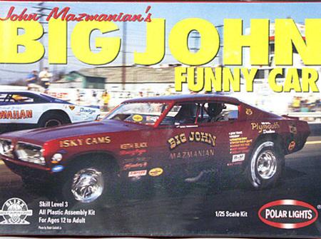 Polar Lights 1/25 Big John Funny Car (POL6504)