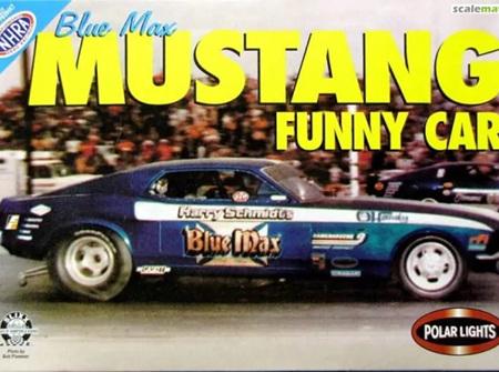 Polar Lights 1/25 Blue Max Ford Mustang Funny Car (POL6507)