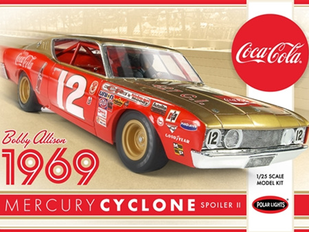 Polar Lights 1/25 Bobby Allison 69 Mercury