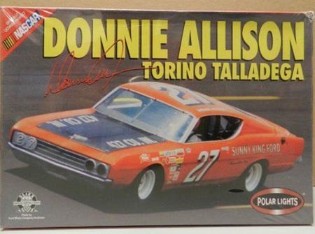 Polar Lights 1/25 Donnie Allison Torino Talladega