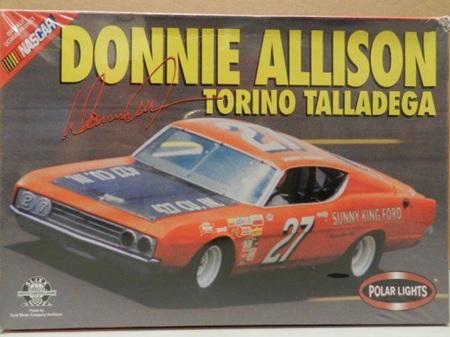 Polar Lights 1/25 Donnie Allison Torino Talladega