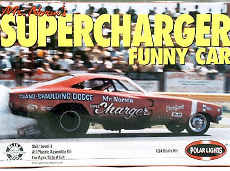 Polar Lights 1/25 Mr Norms Supercharger Funny Car (POL6501)