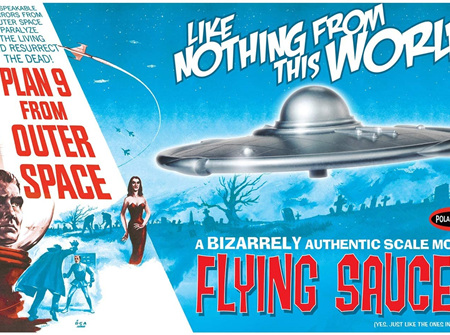 Polar Lights 1/48 Plan 9 From Outer Space Flying Saucer (POL970)