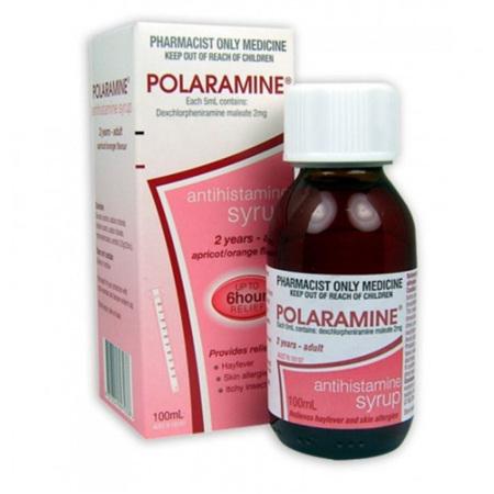 POLARAMINE SYRUP 100ML