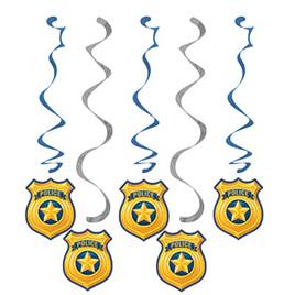 Police dizzy danglers