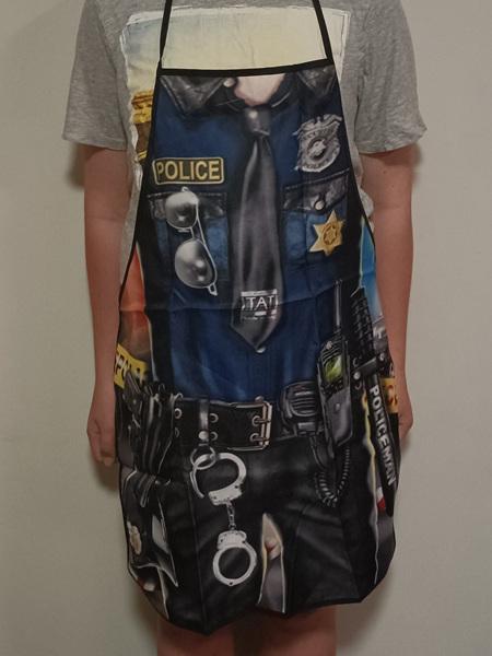 POLICEMAN NOLVETY APRON