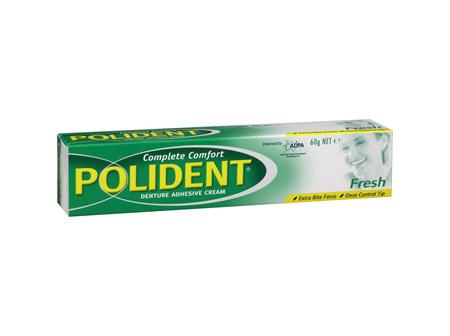 POLIDENT F/Mint Dent Adh. Cream 60g