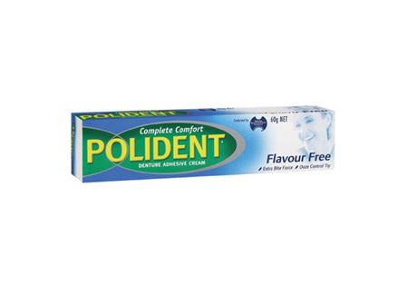 POLIDENT Flav/F Dent Adh. Cream 60g