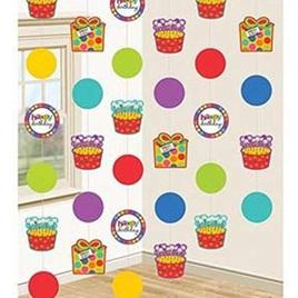 Polka Dot & Cupcakes String Decorations