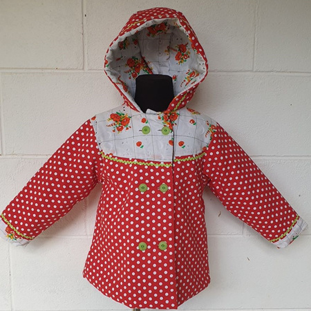 Polka Dot Jacket Size 4