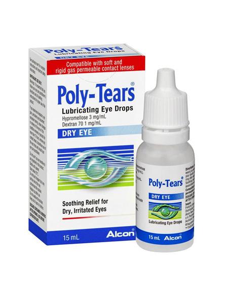POLY TEARS 0.3% EYE DROPS