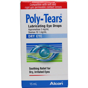 POLY TEARS EYE DROPS 15ML