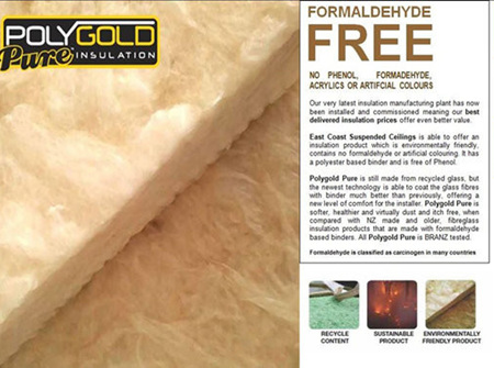 Polygold Pure R2.2 ceiling insulation - 8.43m2