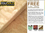 Polygold Pure R3.6 ceiling insulation - 7.37m2