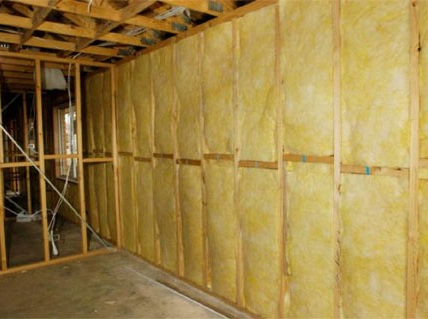 Polygold R2.2 wall insulation