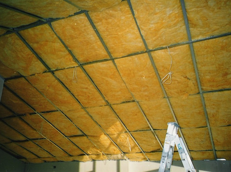 Polygold R4.0 ceiling insulation