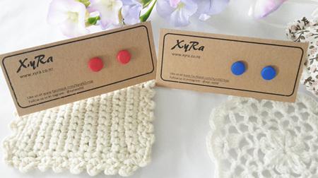Polymer Clay Stud/Earrings, Druzy and Bamboo Earrings