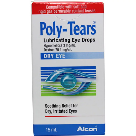 Polytears Eye Drops 15ml