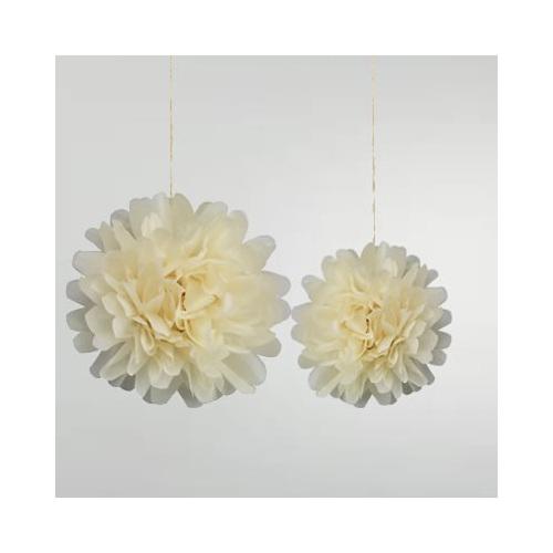 Pom pom flower balls 10 light yellow party lights company pom pom flower balls 10 light yellow mightylinksfo
