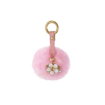 Pom Pom Keyring - Manuka Flower