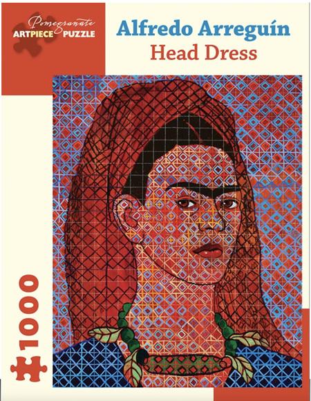 Pomegranate 1000 Piece Jigsaw Puzzle: ALFREDO ARREGUIN: HEAD DRESS