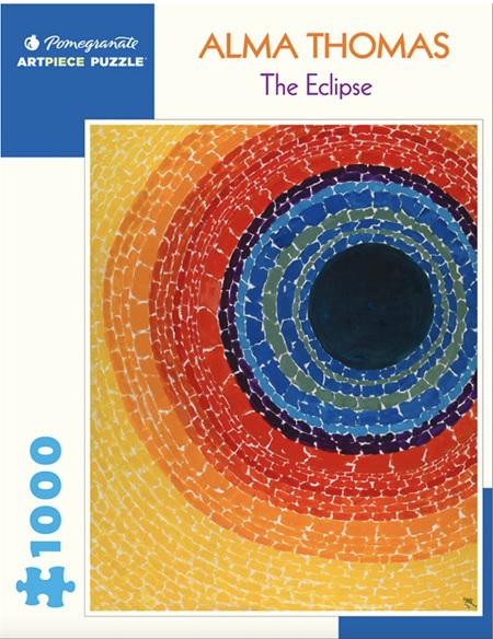 Pomegranate 1000 Piece Jigsaw Puzzle:  ALMA THOMAS: THE ECLIPSE