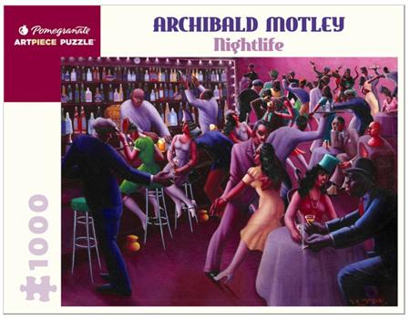 Pomegranate 1000 Piece Jigsaw Puzzle: Archibald Motley: Nightlife