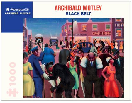 Pomegranate 1000 Piece Jigsaw Puzzle: Archibald Motley: Black Belt