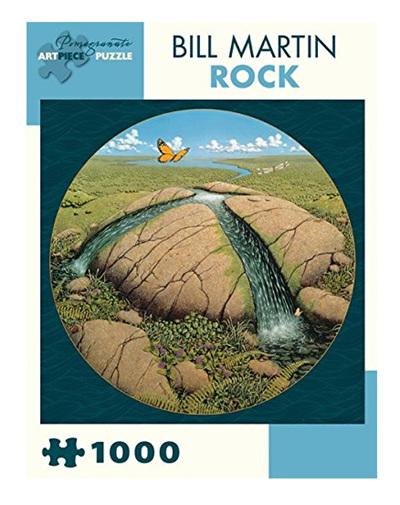 Pomegranate 1000 Piece Jigsaw Puzzle Bill Martin: The Rock