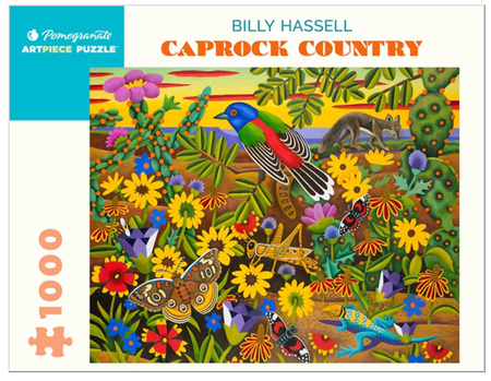 Pomegranate 1000 Piece Jigsaw Puzzle:  Billy Hassell: Caprock Country