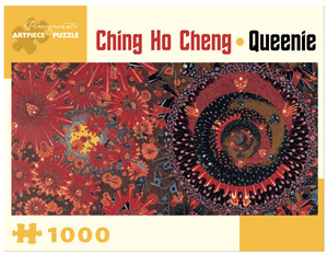 Pomegranate 1000 Piece Jigsaw Puzzle Ching Ho Chen: Queenie