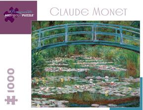 Pomegranate 1000 Piece Jigsaw Puzzle Claude Monet Waterlilies & Bridge