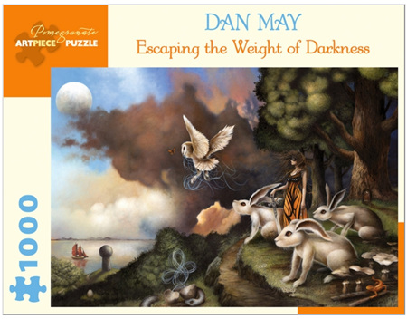 Pomegranate 1000 Piece Jigsaw Puzzle:  Dan May: Escaping the Weight of Darkness