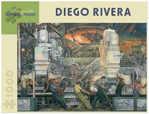 Pomegranate 1000 Piece Jigsaw Puzzle Diego Rivera: Detroit Industry
