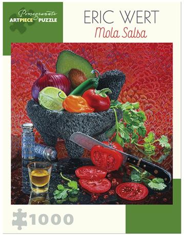 Pomegranate 1000 Piece Jigsaw Puzzle: Eric Wert  - Mola Salsa