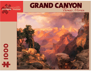 Pomegranate 1000 Piece Jigsaw Puzzle: GRAND CANYON: THOMAS MORAN