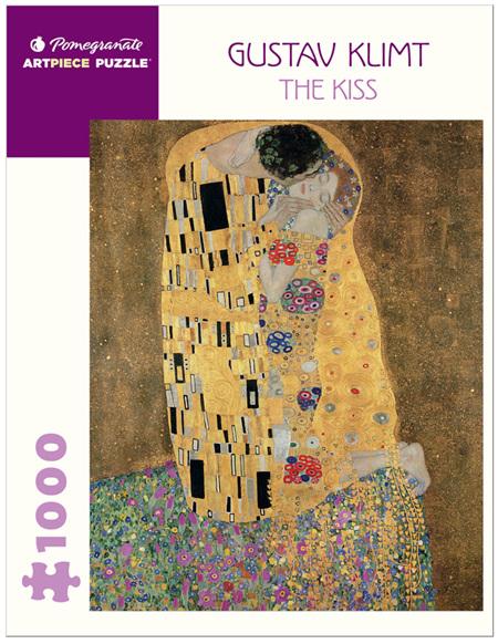 Pomegranate 1000 Piece Jigsaw Puzzle: Gustav Klimt: The Kiss