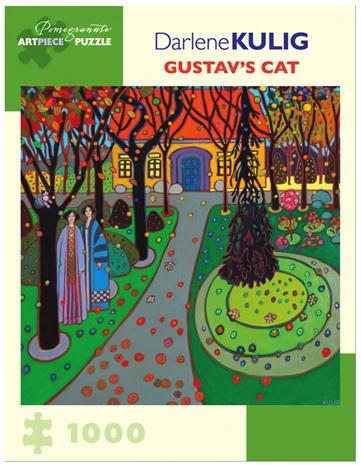 Pomegranate 1000 Piece Jigsaw Puzzle: Gustavs Cat