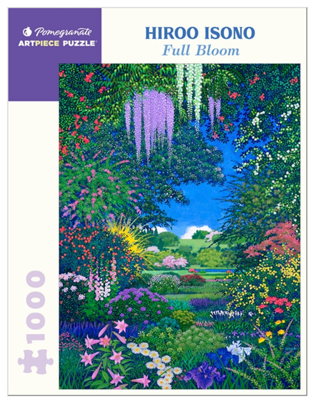 Pomegranate 1000 Piece Jigsaw Puzzle:  Hiroo Isono: Full Bloom