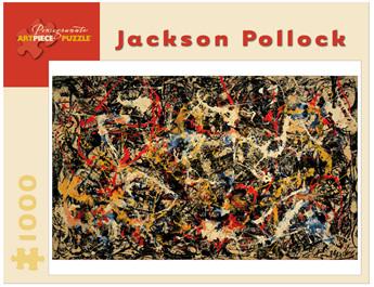 Pomegranate 1000 Piece Jigsaw Puzzle: Jackson Pollock -  Convergence
